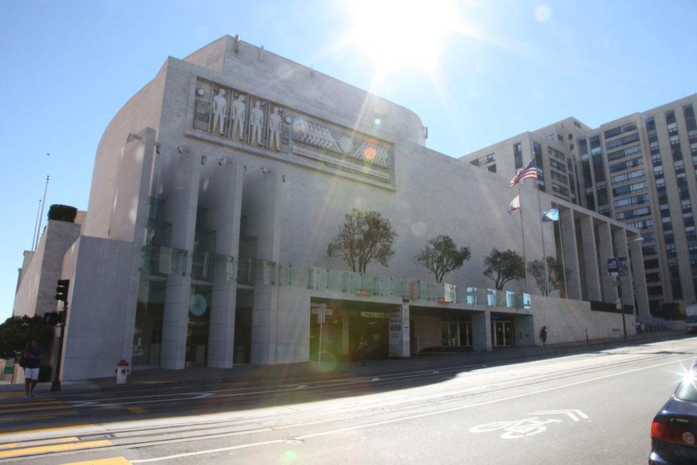 Grand Lodge of California Exterior