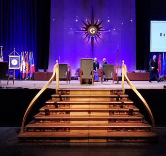 170th Annual Communication at Grand Lodge CA