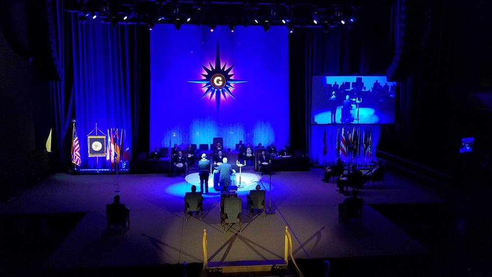 Grand Lodge California Installation