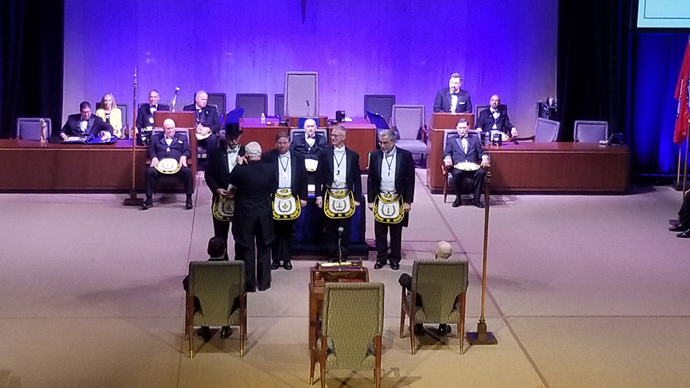 Grand Lodge CA Installation Ceremony
