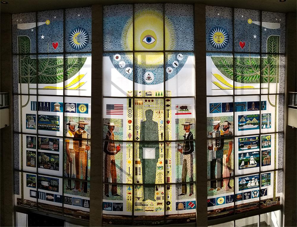 Grand Lodge California Mosaic