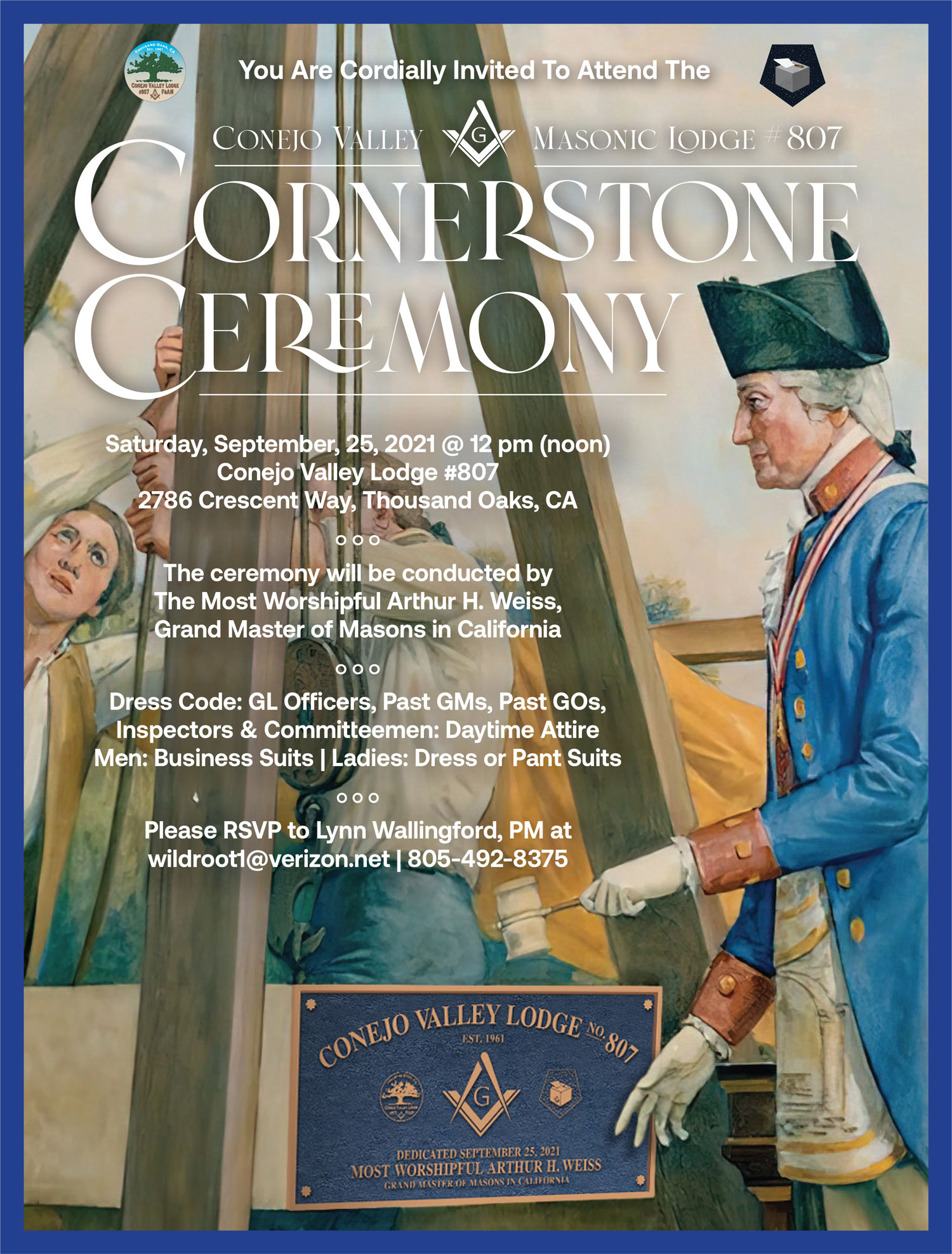 Cornerstone Ceremony at Conejo Valley Lodge's photo'