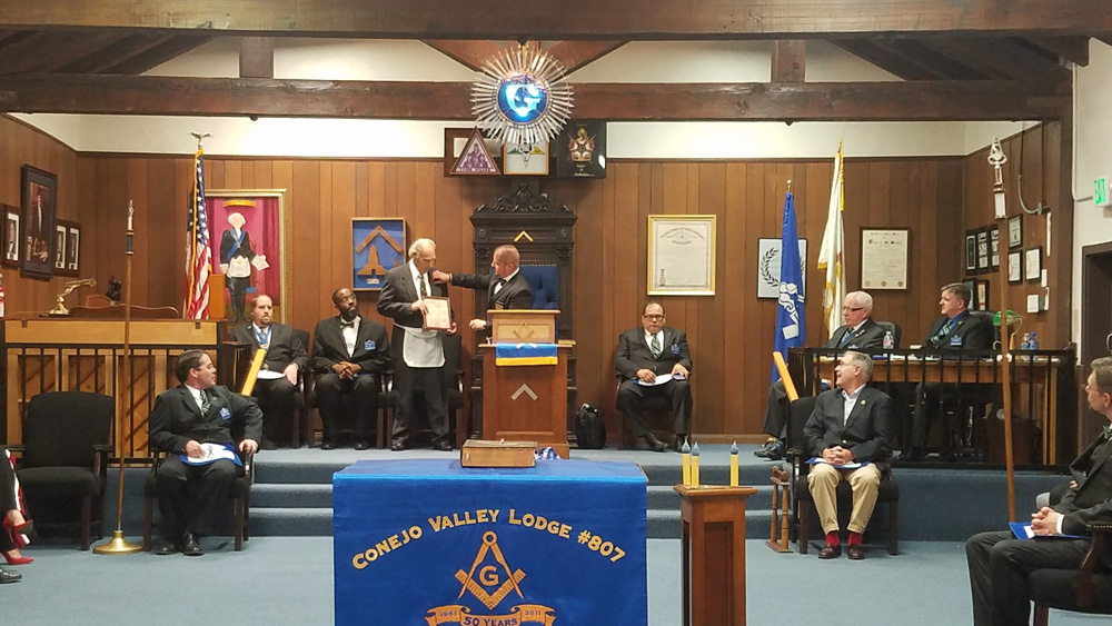 Donald Lee Williams Golden Veterans Award Pin