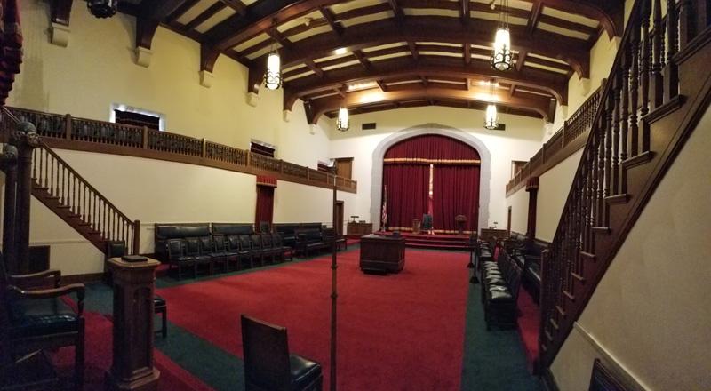 Lodge Room in George Washington Masonic Memorial