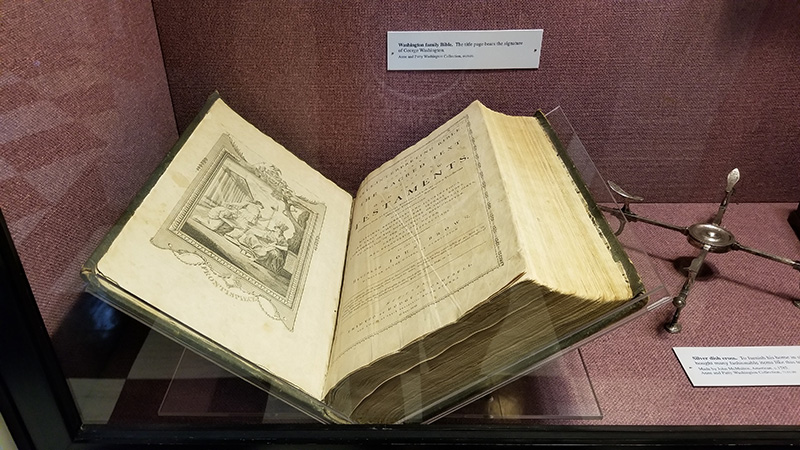 George Washington Bible