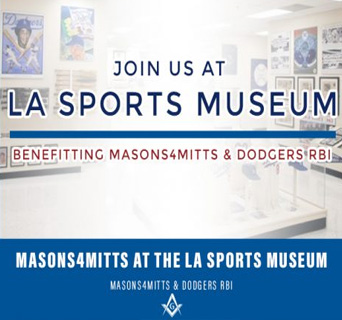 Masons4Mitts & Dodgers RBI