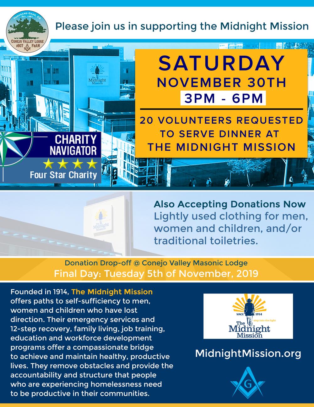 Midnight Mission Volunteer