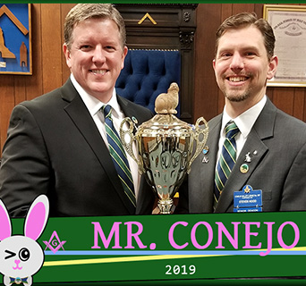 Steven Hood Mr. Conejo 2019