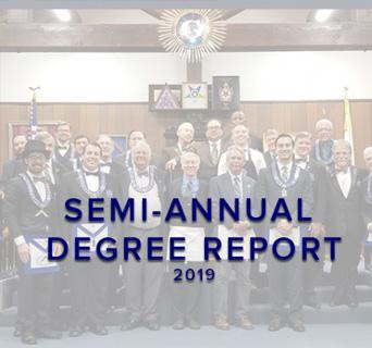 Semi Annual Degree Report 2019