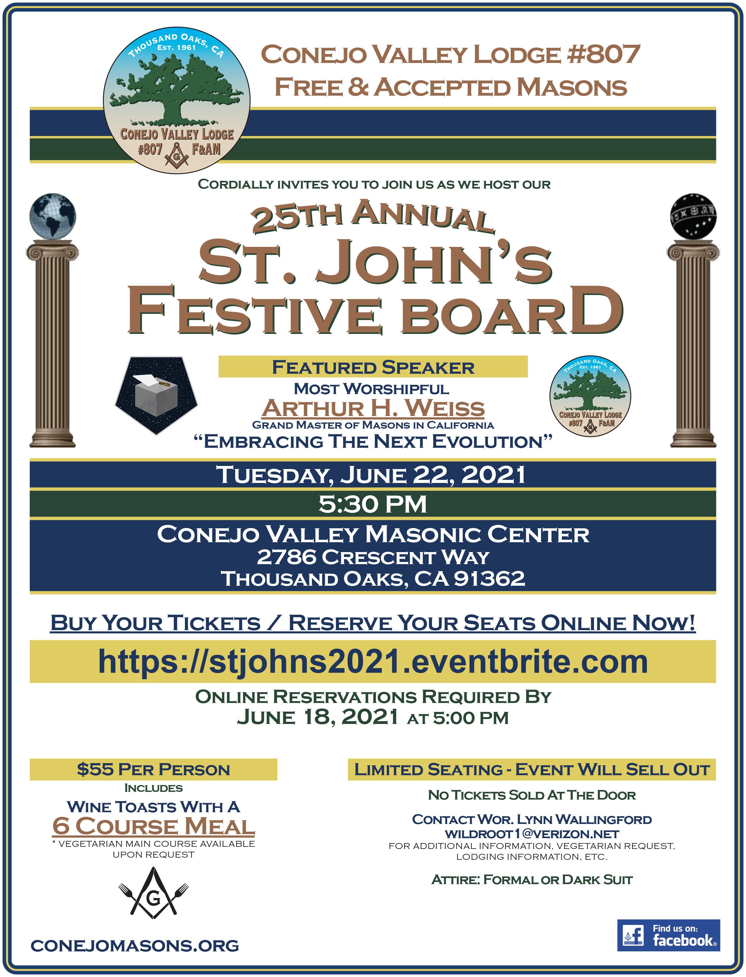St. John's Festive Board 2021's photo'