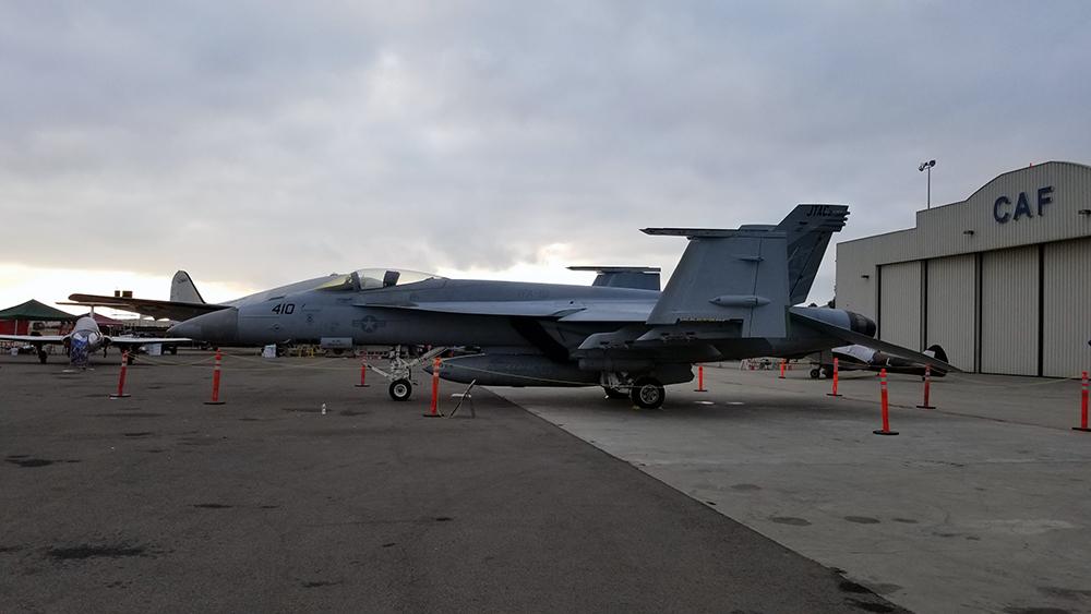 Navy's F/A – 18 Hornet